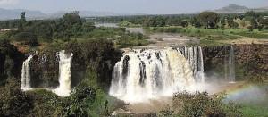 Blue Nile fall